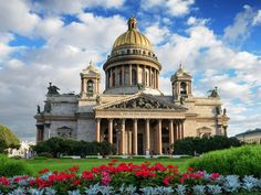 Taking 40 years to complete, St. Isaac's Cathedral was built to be St. Petersburg's main church and the largest cathedral in Russia.