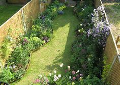 Terraced House Garden On Pinterest