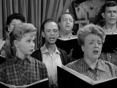 """The Andy Griffith Show. One of my favorite episodes """"Barney and the Choir"""""""