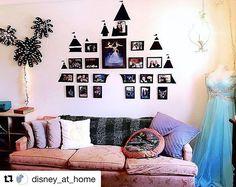 @disney_at_home, photo frame wall display
