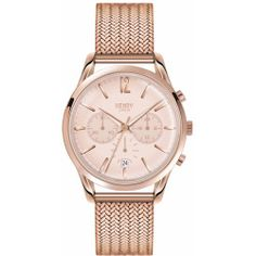 Henry London - Ladies 39mm Shoreditch Chronograph Stainless Steel Bracelet Watch