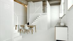 Adn Architects // Industrial apartment in Brussels