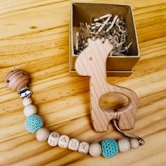 🌳 Our natural wooden Teething Rings are made from untreated and non-toxic beech wood. Their wooden texture make a great addition to your baby's tactile development toys while providing a safe to chew toy option that helps to relieve the pain, discomfort and itching of teething gums. 👶  👉 See our website www.dejkids.nz for more information
