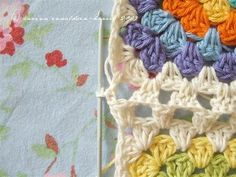Joining Granny squares   - free tutorial