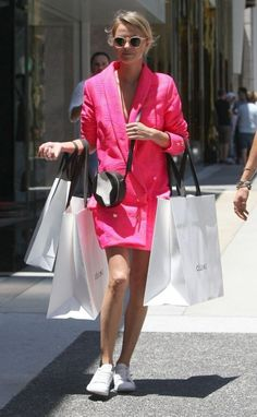 Cologne Schmidt and Nadia Fairfax Out Shopping in Beverly Hills - Celebrity Fashion Trends
