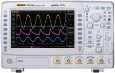 RIGOL DS6000 series is designed to aim at the requirements of the largest digital Oscilloscope market segment from the Communications, Semiconductor, Computing, Aerospace Defense, Instrumentation, Research/Education, Industrial Electronics, Consumer Electronics and Automotive industries with its innovative technology, industry leading specifications, powerful trigger functions and broad analysis capabilities. Series