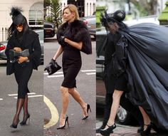 Alexander Mcqueen funeral - 3 of the best Naomi Kate & Daphne at the funeral of one of the best in the business love them all