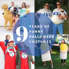 9 Years of Lanker Family Punny Halloween Costumes: The Thinking Closet