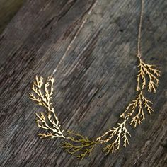 branch necklace...unique and lovely
