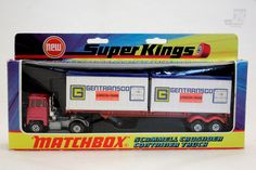 Matchbox SuperKings K-17 Truck OVP - cyan74.com vintage & pop culture | SOLD