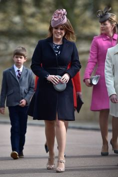 The Royal Family Attend Easter Sunday Service at Windsor Castle - Pictures - Zimbio
