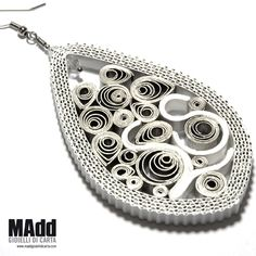 MAdd Gioielli di carta / MAdd Paper jewels: ORECCHINI IN FILIGRANA / PAPER FILIGREE EARRINGS