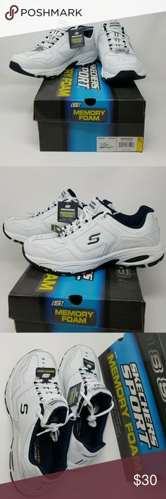 e609c15c9100b Men's Skecher's Sport Memory Foam sneakers NWT attached. #054 Skechers  Shoes Sneakers Przygoda,