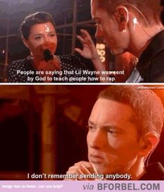 Eminem Is God…