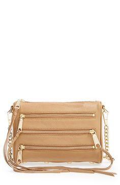 Rebecca Minkoff 'Mini 5-Zip' Convertible Crossbody Bag available at #Nordstrom