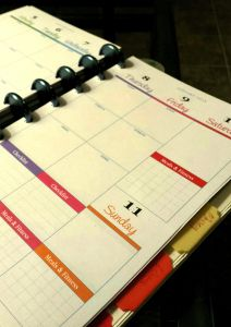 the pretty planner by Faustine Vaughn