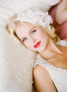 would love to rock red lips on my wedding day... but not so sure that will happen lol #lipstick