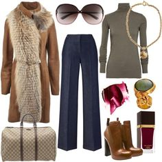 """""""Untitled"""" by chicandglamorous on Polyvore great winter boho rachel zoe style"""