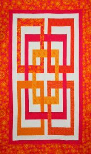 Josephine's Knot ... quilt pattern from Calico Carriage Quilt Design ... sizes lap to king (twin pictured)