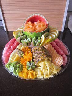 Chani's Delectables fruit platter