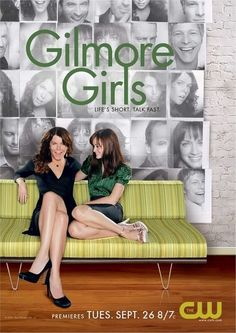 Gilmore Girls- I have watched the whole series so many times on my DVR that I haven't had to crack open the box series set given to me for Christmas many moons ago! :)