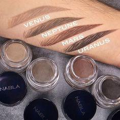"""Escolhe o teu tom ideal dos novos """"Brow Pot"""" da Nabla Cosmetics e define as tuas sobrancelhas melhor que nunca! """"brow pot"""" > www.maquillalia.com ou clica directamente nesta imagem através do link do nosso perfil @mrdanielmakeup"""