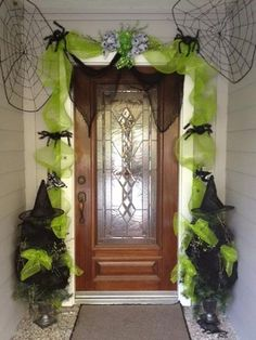 Witchy Door Decor