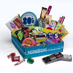 Hometown Favorites 1980's Nostalgic Candy Gift Box, Retro 80's Candy, 3-Pound - http://mygourmetgifts.com/hometown-favorites-1980s-nostalgic-candy-gift-box-retro-80s-candy-3-pound/
