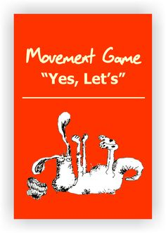 """FREE DRAMA GAME~ Yes, Let's~ Have all players scatter about in the playing space. One student calls out an activity for everyone to start miming, the rest of the group members shout out """"Yes, lets!"""" and then they start doing the activity. Read more...  https://www.dramanotebook.com/drama-games/yes-lets/"""