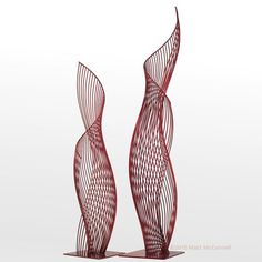 Mcconnell Studios Works With Clients To - Home Decor Art Sculpture, Abstract Sculpture, Metal Sculptures, Bronze Sculpture, Instalation Art, Bamboo Art, Futuristic Architecture, Public Art, Metal Art