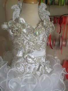 Ultimate glitz pageants dress by royalty designs Pagent Dresses For Girls, Pageant Dresses For Women, Toddler Pageant Dresses, Glitz Pageant Dresses, Pageant Wear, Pageant Crowns, Party Dresses, Pagent Hair, Girl Tutu