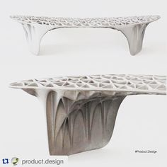 #3dprint #3dprinted #3dprinting #furniture #bench #design by Janne Kyttanen via @product.design by dubainat