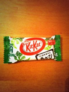 They do a wasabi white chocolate Kit Kat here! The wasabi flavor is very light. Great bar 4 white chocolate lovers.