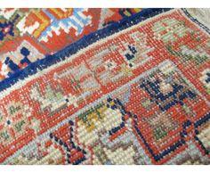 Indian Heriz , 4 x 7 - Lesniak Oriental Rugs Indian Rugs, Oriental Rugs, Rug Making, Bohemian Rug, Spaces, Inspired, Home Decor, Decoration Home, Room Decor