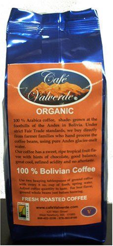 10 oz Artisan Roasted Amer  Med Primera Extra Organic Bolivian Coffee  Whole Bean AAA  Cafe Valverde *** See this great product.