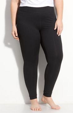 Zella 'Live In' Leggings (Plus Size) available at #Nordstrom According the reviews and some blogs, worth every penny.