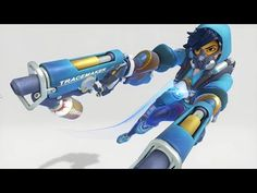 Tracer Cosplay, Overwatch Tracer, 1 Year Anniversary, Character Concept, Unique Art, Graffiti, Video Games, Videos, Artwork