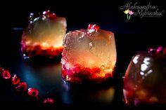 Przepisy Aleksandry: Pear cider jelly with pomegranates