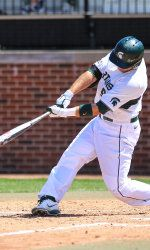 Michigan State baseball took the series from Penn State and won 2-1 on Saturday afternoon at Medlar Park. The Spartans trailed 1-0 heading into the ninth but scored two runs in the final inning to steal the win. MSU moved to 33-17 and 12-9 in the Big Ten following the win.