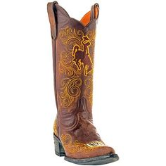 Gameday Wyoming Cowboys Ladies Cowboy Boots - Brown I WANT THESE BOOTS!