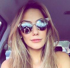 Fendi Iridia que tanto amamos na linda @maricoelho_  #oticaswanny #maricoelho #fendi #fendiiridia