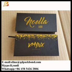 Magnetic lash packaging with private label eyelash packaging box  Whatsapp:+86 158 5426 2806  Skype:li.yunli82