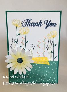 Delightful Daisy Stamp set and punch Stampin Up 2017-2018