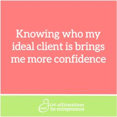 Affirmations for Self Employeed Women Entrepreneurs from Coach Erin www.ecoacherin.com #ecoacherin
