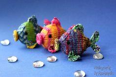 Amigurumi fish knitting pattern easy by KnitographyByMumpitz