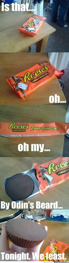 2 And A Half Pound Reese's!