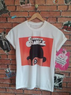 Men's A Clockwork Orange indie t shirt/T-shirt/tee (Woman's fit also available) by BADYOUTHTEES on Etsy