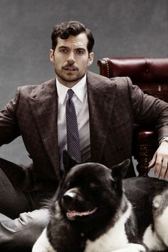 Henry Cavill and Kal for The Rake Photography by Kalle Gustafsson, October 2017