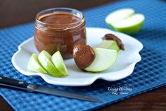 Chocolate Almond Butter (dairy, gluten, refined sugar free, Paleo, low carb) by LivingHealthyWithChocolate.com