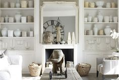 White Home Decor: Modern Meets Rustic - lookslikewhite Blog - lookslikewhite